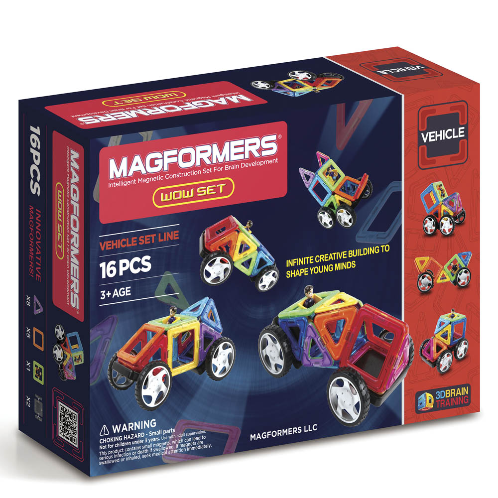 Magformers Magformers Wow 16 Piece Set