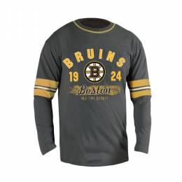 Old Time Hockey Boston Bruins Yutan Long Sleeve Shirt