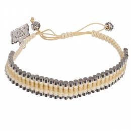 Rose Gonzales Tori Cream and Sand Bracelet