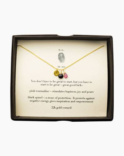 Good Luck Necklace in Gold