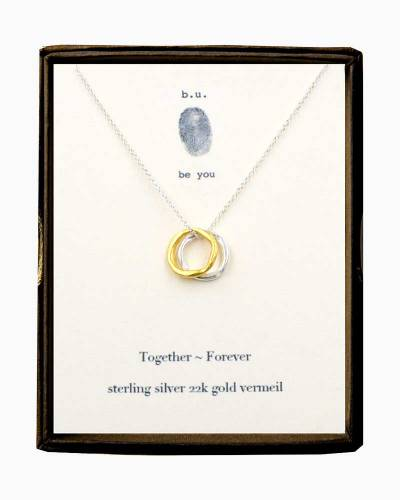 Together Forever Two-Tone Necklace