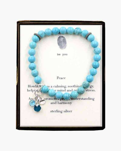Peace Beaded Bracelet