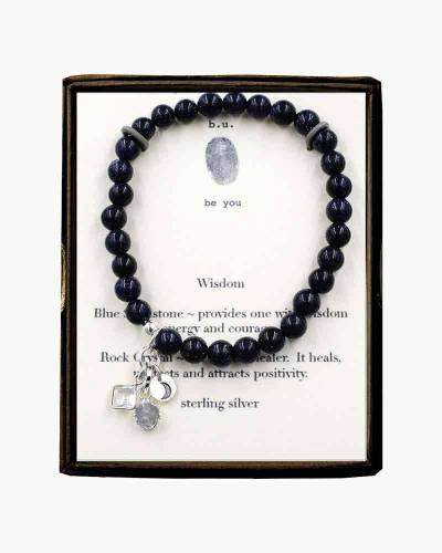 Wisdom Beaded Bracelet