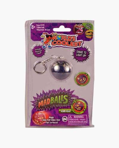 World's Coolest MadBalls Keychain (Assorted)