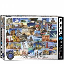 Eurographics Globetrotter Jigsaw Puzzle (1,000 pc.)