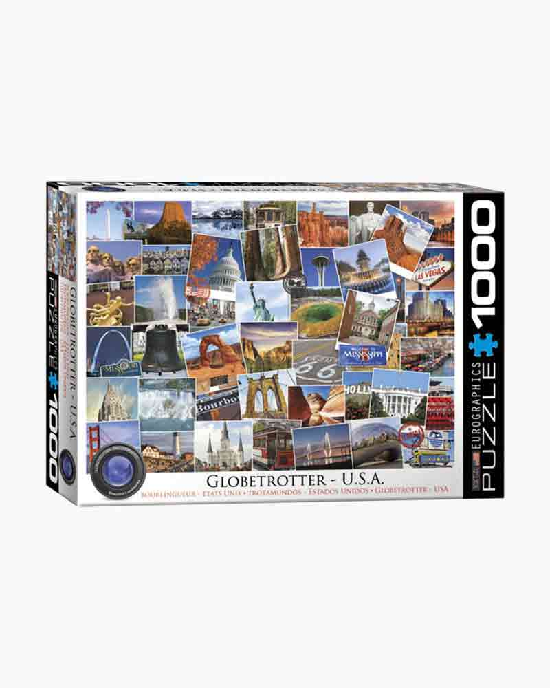 Eurographics Globetrotter USA Jigsaw Puzzle (1,000 pc.)