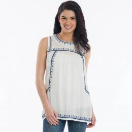 Dreamers Embroidered Gauze Tunic
