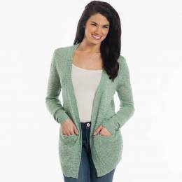 Dreamers Flyaway Knit Cardigan in Mint