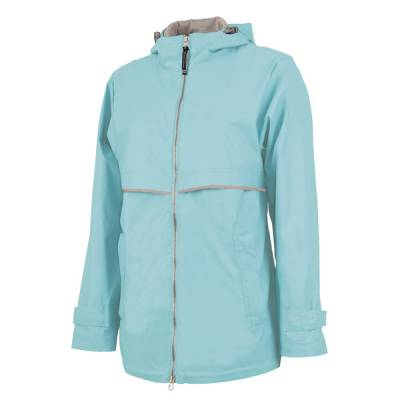 Women's Aqua New Englander Rain Jacket