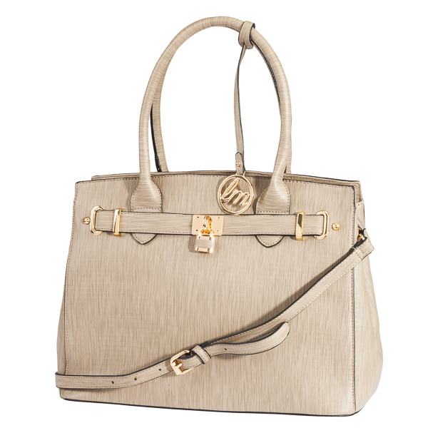 Le Miel Lock-and-Key Large Satchel