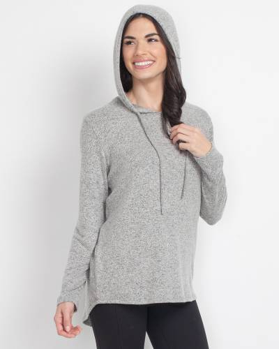 Exclusive Soft Brushed Hoodie in Grey