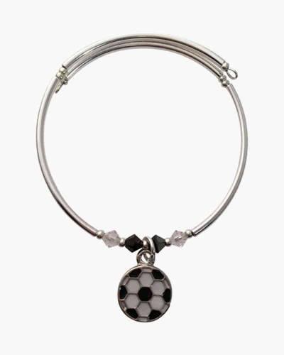 Soccer Charm Bracelet