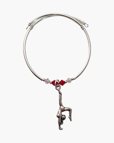 Gymnastics Charm Bracelet