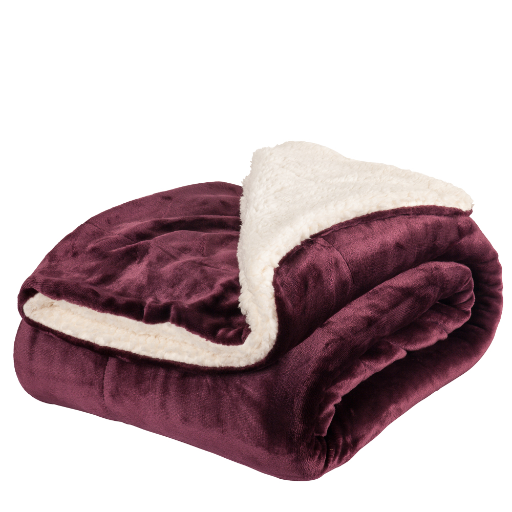 Berber Velvet Throw Blanket $19.99