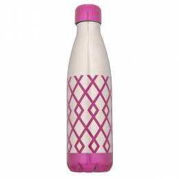 Northpoint Trading Geometric Stainless Steel Water Bottle