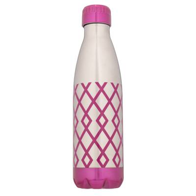 Geometric Stainless Steel Water Bottle