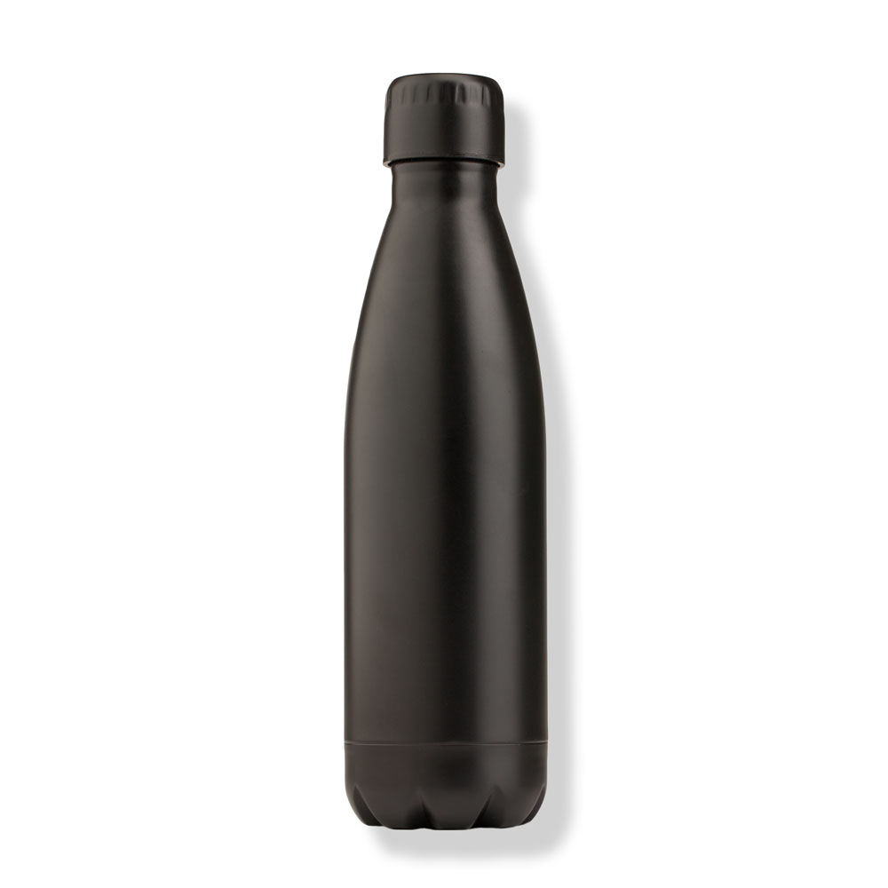 Northpoint Trading Stainless Steel Water Bottle in Matte Black