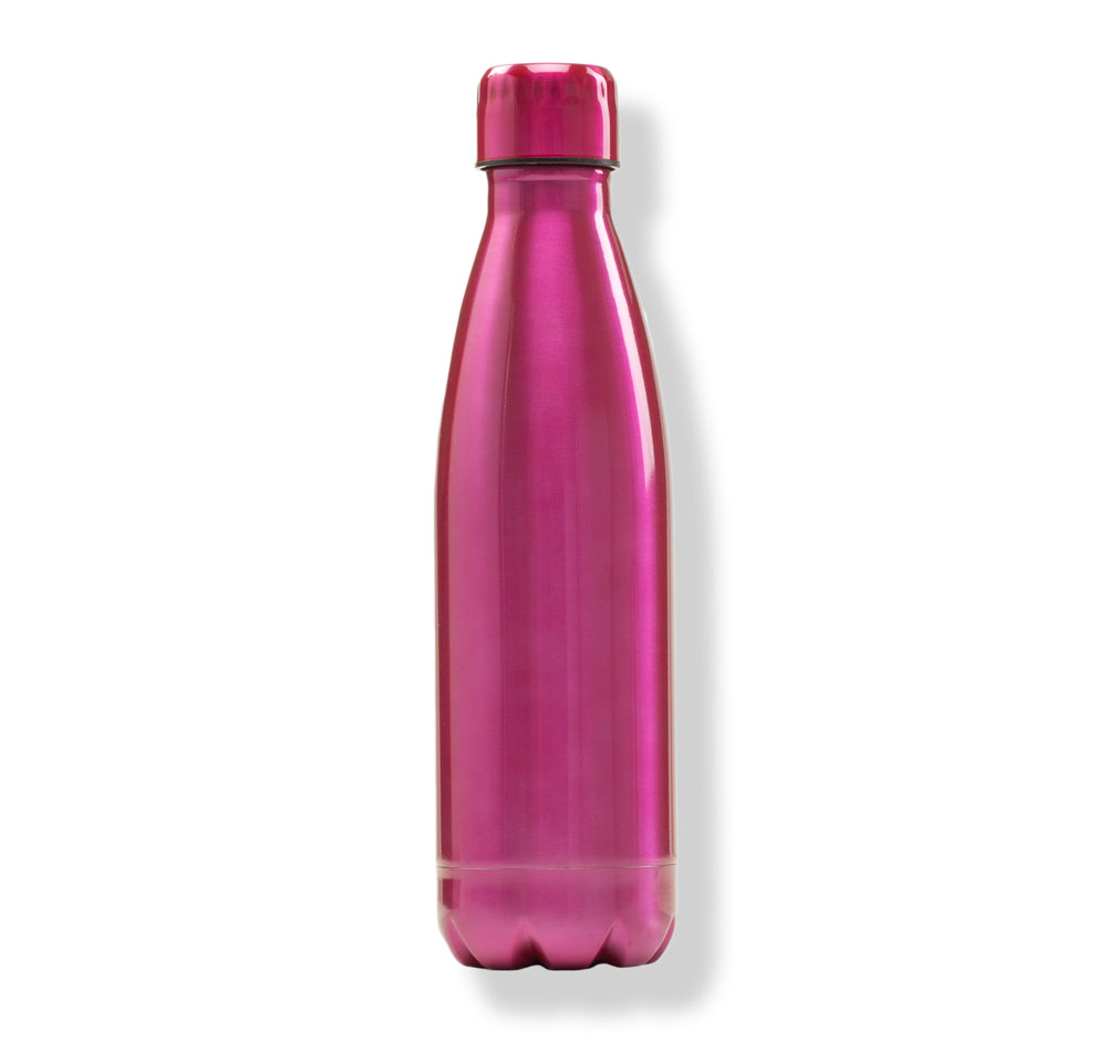 Northpoint Trading Stainless Steel Water Bottle in Pink