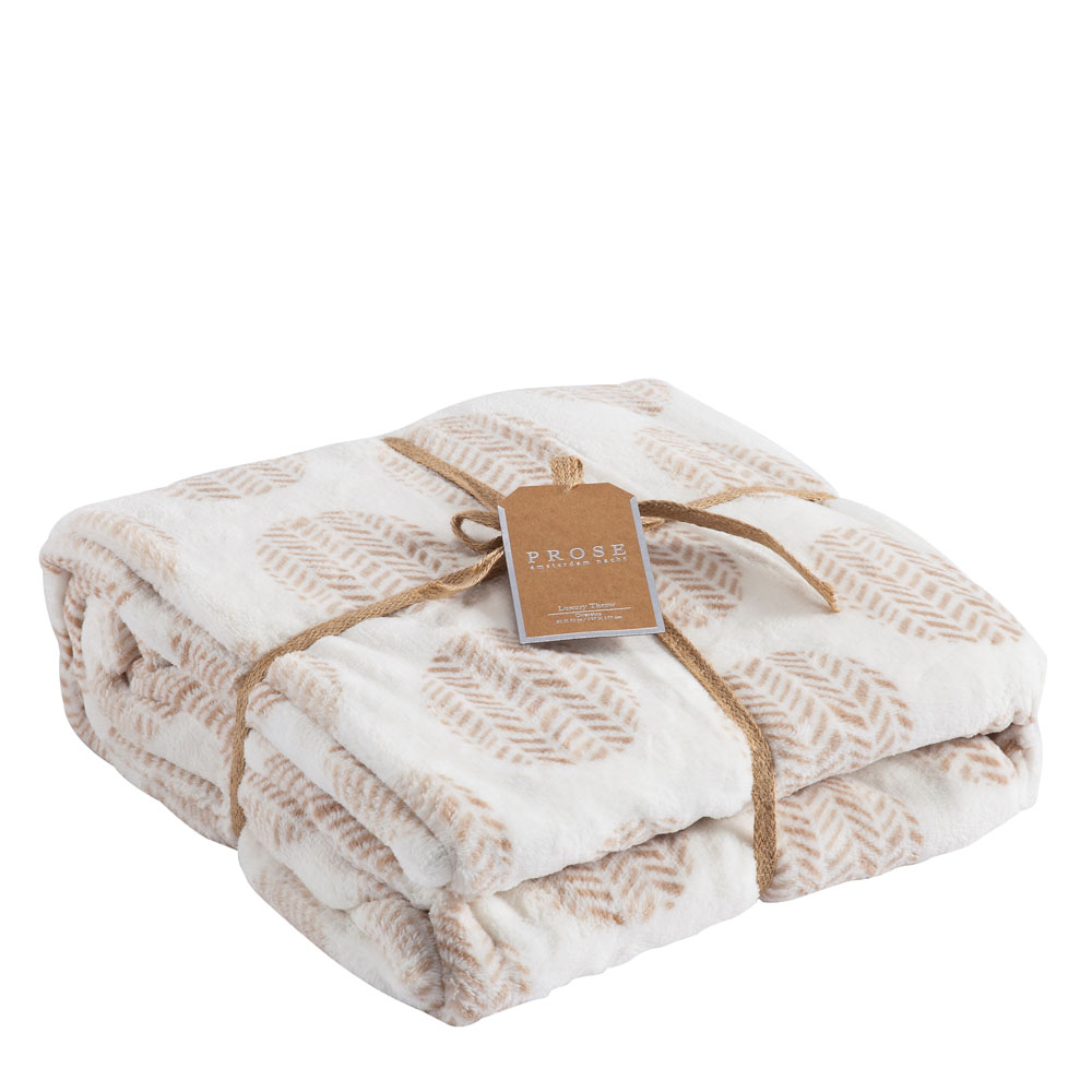 Northpoint Trading Decorated Velvet Luxury Throw Blanket