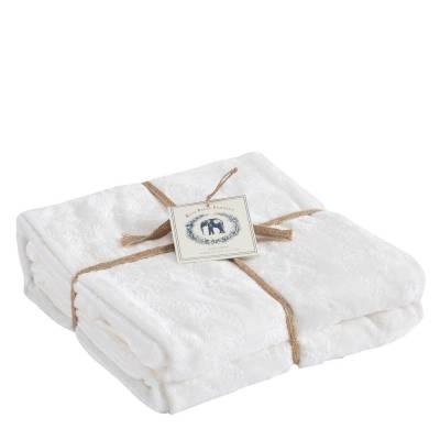 Etched Velvet Luxury Throw Blanket