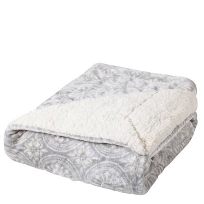 Luxurious Patterned Throw Blanket
