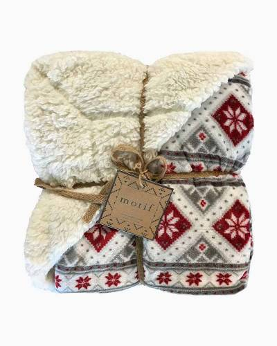 Luxurious Holiday Pattern Throw Blanket (Assorted)