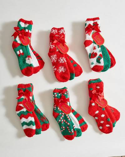 Holiday Butter Socks Pack (Assorted)