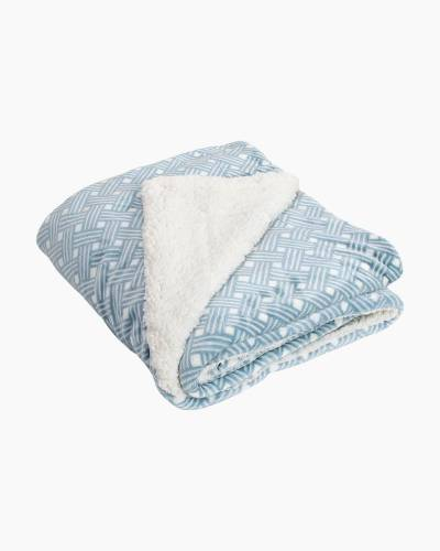Printed Fleece Throw Blanket