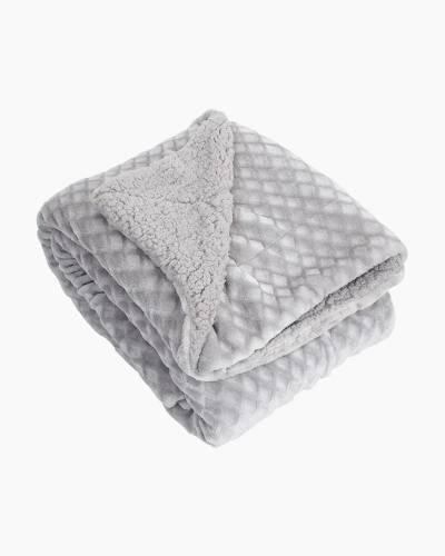 Embossed Fleece Throw Blanket