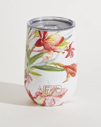 Floral Insulated Wine Cup (Assorted Styles)
