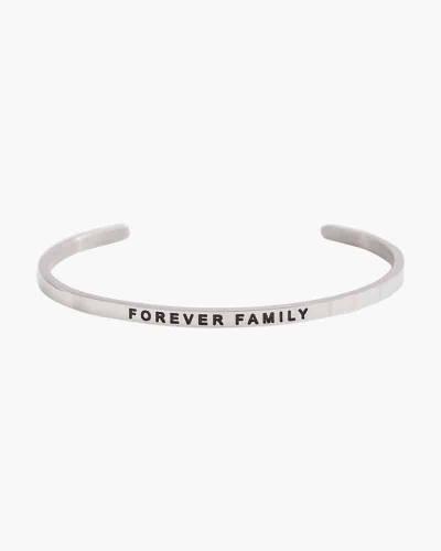 Forever Family Silver Bracelet