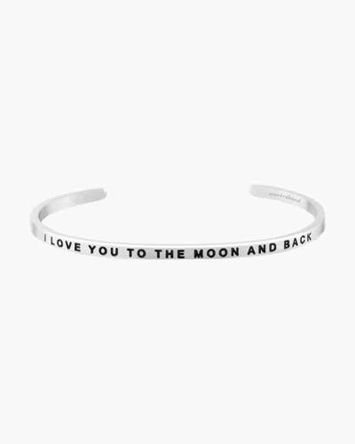 To the Moon and Back Silver Bracelet