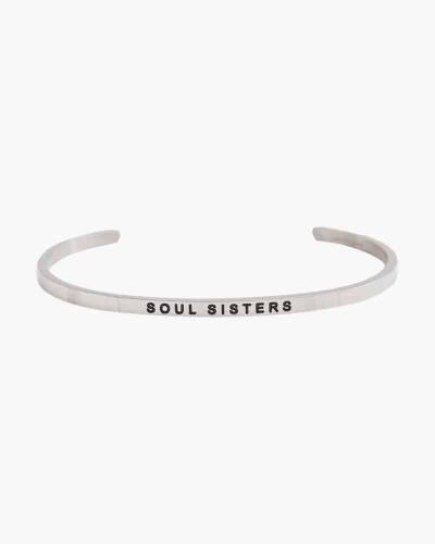 Soul Sisters Silver Bracelet