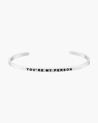 You're My Person Silver Bracelet
