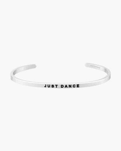 Just Dance Silver Bracelet