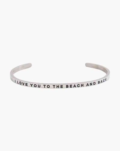 Exclusive To the Beach and Back Silver Bracelet
