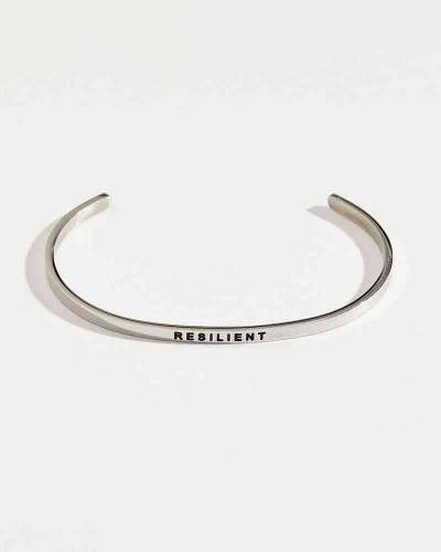 Exclusive Resilient Silver Bracelet