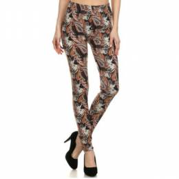 SNG Apparel Womens Leggings Exotic Paisley Print