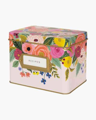 Juliet Rose Kitchen Recipe Box