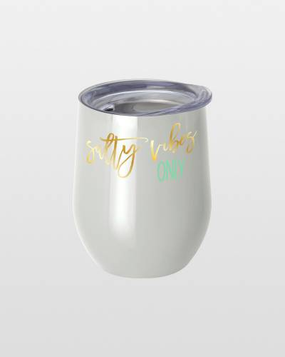 Salty Vibes Stemless Wine Cup