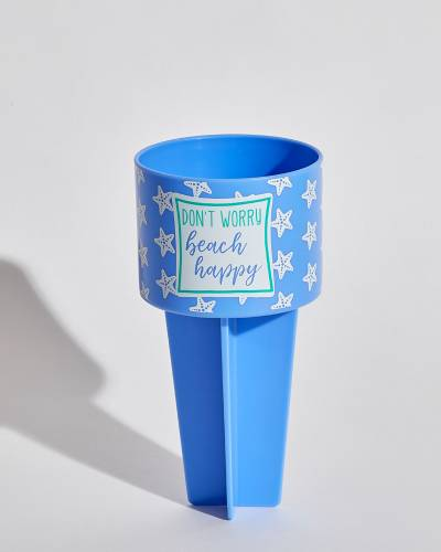 Don't Worry Beach Happy Beach Buddy Cup Holder