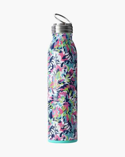 Swig Stainless Steel Water Bottle in Frilly Lilly
