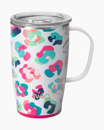Tie Dye 18 oz. Travel Mug in Party Animal