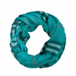 Elegant Essence Plaid Infinity Scarf