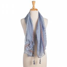 Elegant Essence Tribal Square Scarf