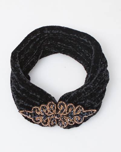 Embellished Chenille Headband
