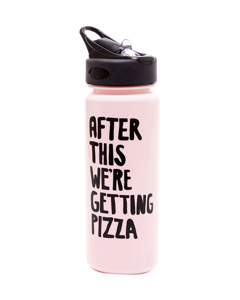 ban.do Getting Pizza Work it Out Water Bottle