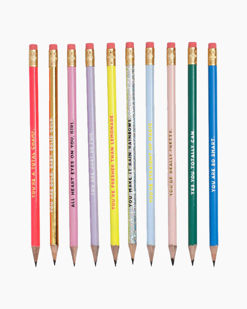 ban.do Compliment Pencil Set (Set of 10)