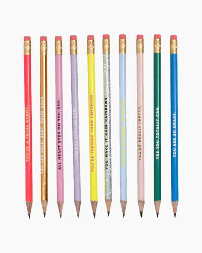 Compliment Pencil Set (Set of 10)