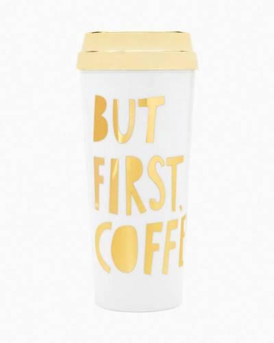 But First Coffee Thermal Travel Mug
